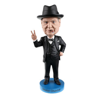 figurka Winston Churchill - Bobble-Head